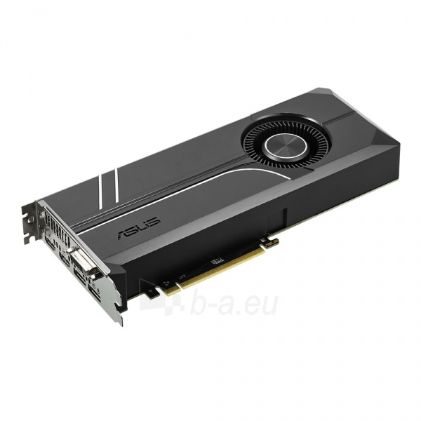 Vaizdo plokštė ASUS TURBO-GTX1070-8G 8GB GDDR5X 256 bit Paveikslėlis 1 iš 1 310820026706