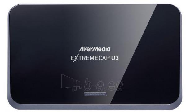 Vaizdo plokštė AVerMedia ExtremeCap U3 Paveikslėlis 1 iš 4 250255061505
