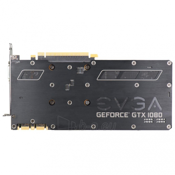 Vaizdo plokštė EVGA GeForce GTX 1080 FTW GAMING ACX 3.0, 8GB GDDR5X (256 Bit), HDMI, DVI, 3xDP Paveikslėlis 7 iš 8 310820047108