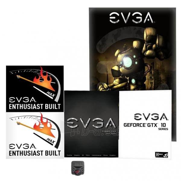 Vaizdo plokštė EVGA GeForce GTX 1080 FTW HYBRID GAMING, 8GB GDDR5X (256 Bit), HDMI, DVI, 3xDP Paveikslėlis 2 iš 8 310820050094