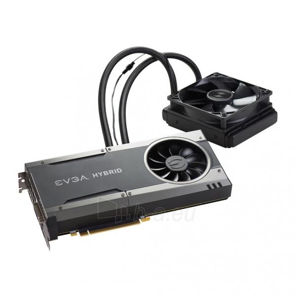 Vaizdo plokštė EVGA GeForce GTX 1080 FTW HYBRID GAMING, 8GB GDDR5X (256 Bit), HDMI, DVI, 3xDP Paveikslėlis 4 iš 8 310820050094