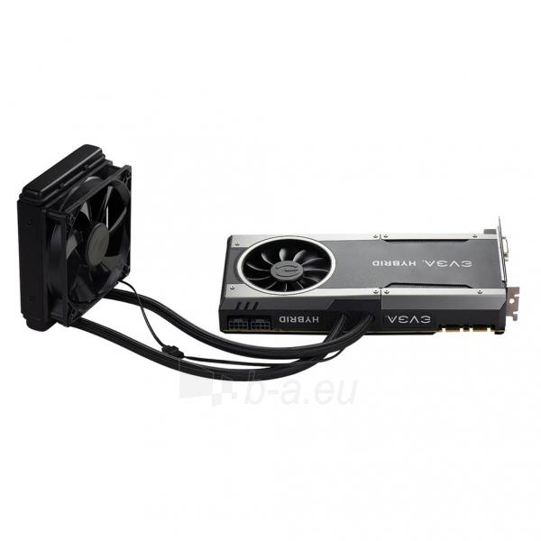 Vaizdo plokštė EVGA GeForce GTX 1080 FTW HYBRID GAMING, 8GB GDDR5X (256 Bit), HDMI, DVI, 3xDP Paveikslėlis 6 iš 8 310820050094