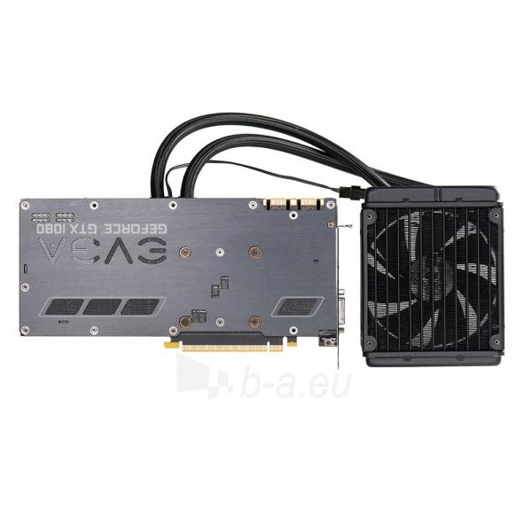 Vaizdo plokštė EVGA GeForce GTX 1080 FTW HYBRID GAMING, 8GB GDDR5X (256 Bit), HDMI, DVI, 3xDP Paveikslėlis 7 iš 8 310820050094