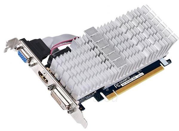 Gigabyte GeForce GT 730, 2GB DDR3 (64 Bit), HDMI, DVI, D-Sub Paveikslėlis 1 iš 2 250255061243