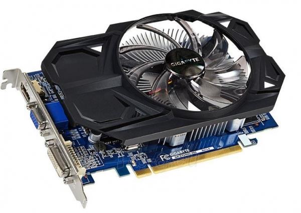 Vaizdo plokštė Gigabyte Radeon R7 240, 2GB DDR3 (128 Bit), HDMI, DVI Paveikslėlis 1 iš 2 250255061262