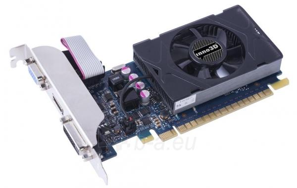 Vaizdo plokštė Inno3D GeForce GT 730, 2GB GDDR5 (64 Bit), HDMI, DVI, D-Sub Paveikslėlis 1 iš 2 310820045972