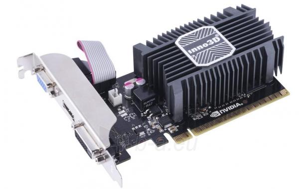Vaizdo plokštė Inno3D GeForce GT 730, 2GB SDDR3 (64 Bit), HDMI, DVI, D-Sub Paveikslėlis 1 iš 2 310820045971