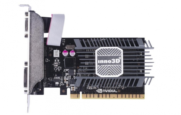 Vaizdo plokštė Inno3D GeForce GT 730, 2GB SDDR3 (64 Bit), HDMI, DVI, D-Sub Paveikslėlis 2 iš 2 310820045971