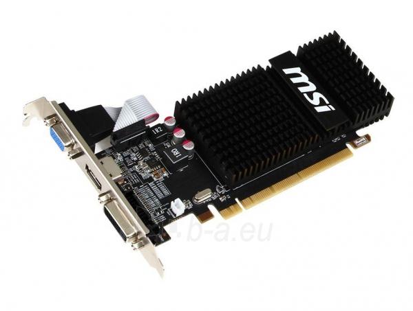 Vaizdo plokštė MSI Radeon R5 230, 2GB GDDR3 (64 Bit), HDMI, DVI, D-Sub Paveikslėlis 2 iš 3 310820011592
