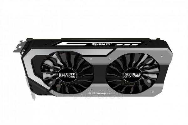 Vaizdo plokštė PALIT GeForce GTX 1060 JetStream, 6GB GDDR5 (192 Bit), HDMI, DVI, 3xDP Paveikslėlis 5 iš 10 310820045332