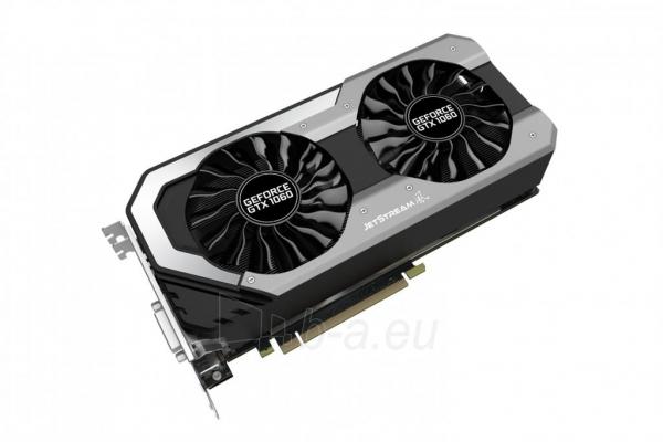 Vaizdo plokštė PALIT GeForce GTX 1060 Super JetStream, 6GB GDDR5 (192 Bit), DVI, 3xDP Paveikslėlis 1 iš 10 310820045333