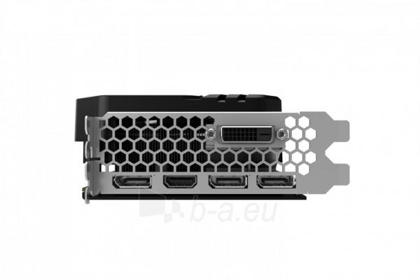 Vaizdo plokštė PALIT GeForce GTX 1060 Super JetStream, 6GB GDDR5 (192 Bit), DVI, 3xDP Paveikslėlis 8 iš 10 310820045333