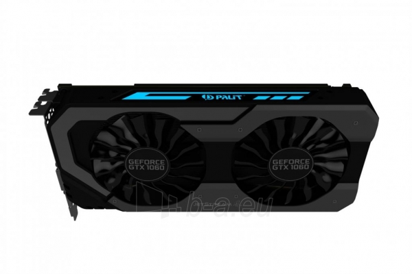 Vaizdo plokštė PALIT GeForce GTX 1060 Super JetStream, 6GB GDDR5 (192 Bit), DVI, 3xDP Paveikslėlis 4 iš 10 310820045333