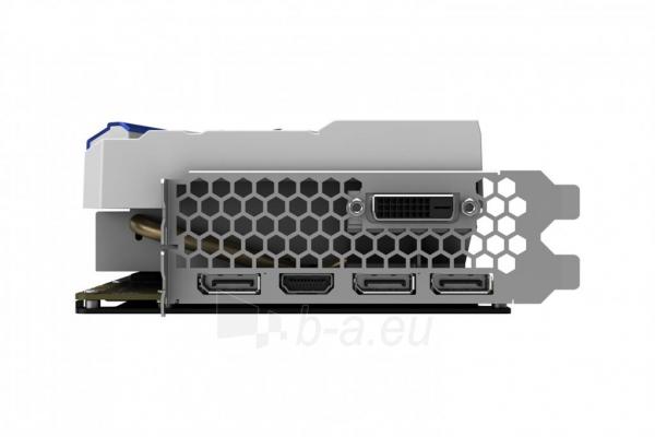 Vaizdo plokštė PALIT GeForce GTX 1070 GameRock, 8GB GDDR5 (256 Bit), HDMI, DVI, 3xDP Paveikslėlis 8 iš 10 310820047121