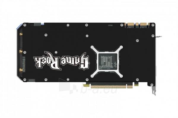 Vaizdo plokštė PALIT GeForce GTX 1070 GameRock, 8GB GDDR5 (256 Bit), HDMI, DVI, 3xDP Paveikslėlis 7 iš 10 310820047121