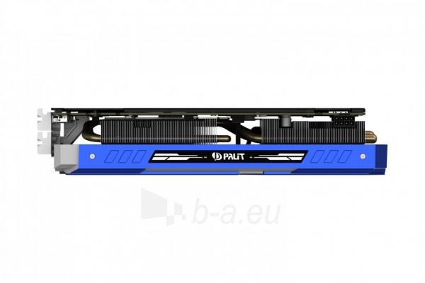 Vaizdo plokštė PALIT GeForce GTX 1070 GameRock, 8GB GDDR5 (256 Bit), HDMI, DVI, 3xDP Paveikslėlis 2 iš 10 310820047121