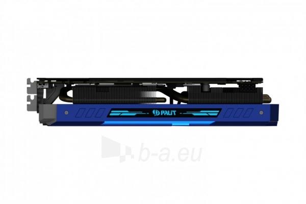 Vaizdo plokštė PALIT GeForce GTX 1070 GameRock, 8GB GDDR5 (256 Bit), HDMI, DVI, 3xDP Paveikslėlis 10 iš 10 310820047121