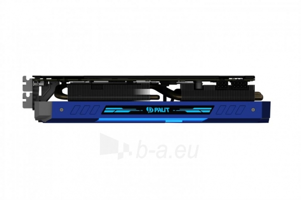 Vaizdo plokštė PALIT GeForce GTX 1080 GameRock, 8GB GDDR5X (256 Bit), HDMI, DVI, 3xDP Paveikslėlis 9 iš 9 310820045336