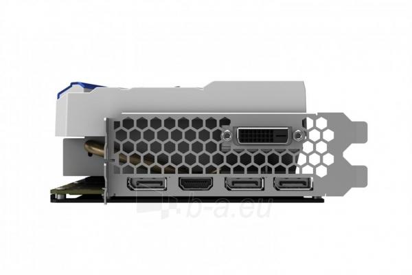 Vaizdo plokštė PALIT GeForce GTX 1080 GameRock Premium, 8GB GDDR5X (256 Bit), HDMI, DVI, 3xDP Paveikslėlis 3 iš 4 310820047122