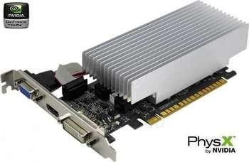 Vaizdo plokštė PALIT GT610 PCIE 1GB SD3 VGA/DVI/HDMI LP Paveikslėlis 1 iš 1 250255060642