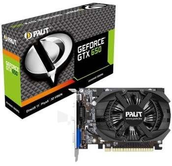 Vaizdo plokštė PALIT GTX650 2GB GDDR5 DVI/MHDMI/VGA Paveikslėlis 1 iš 1 250255060757
