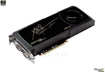 PNY GTX 580 PCIE 1536M GDDR5 2X DVI+HDMI Paveikslėlis 1 iš 1 250255060612