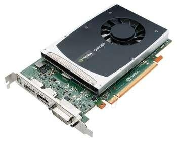 PNY QUADRO 2000 PCIE 1GB GDDR5 2X DP+DVI Paveikslėlis 1 iš 1 250255060615