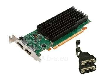 PNY QUADRO NVS 295 PCIE 256M 2X DP/DVI-D Paveikslėlis 1 iš 1 250255060235