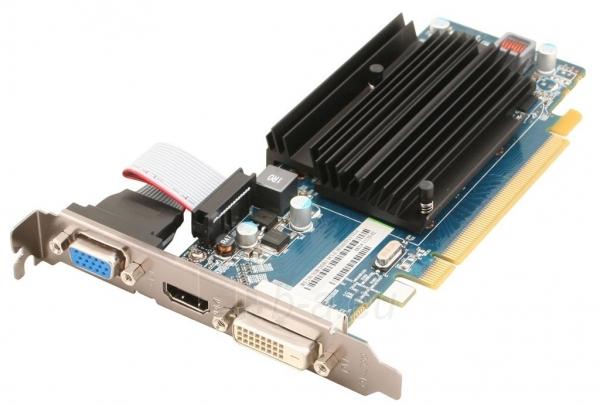 Vaizdo plokštė Sapphire Radeon R5 230, 2GB DDR3 (64 Bit), HDMI, DVI, VGA, LITE Paveikslėlis 1 iš 3 250255061343
