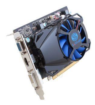 Vaizdo plokštė Sapphire Radeon R7 250 512SP Edition, 1GB GDDR5 (128 Bit), HDMI, DVI, VGA, LITE Paveikslėlis 1 iš 4 310820011605