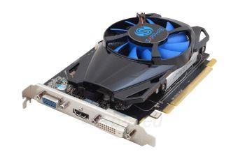 Vaizdo plokštė Sapphire Radeon R7 250 512SP Edition, 1GB GDDR5 (128 Bit), HDMI, DVI, VGA, LITE Paveikslėlis 2 iš 4 310820011605