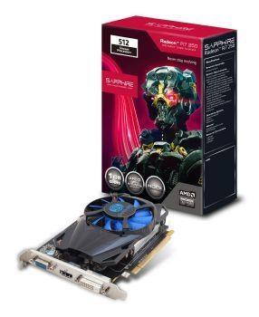 Vaizdo plokštė Sapphire Radeon R7 250 512SP Edition, 1GB GDDR5 (128 Bit), HDMI, DVI, VGA, LITE Paveikslėlis 3 iš 4 310820011605