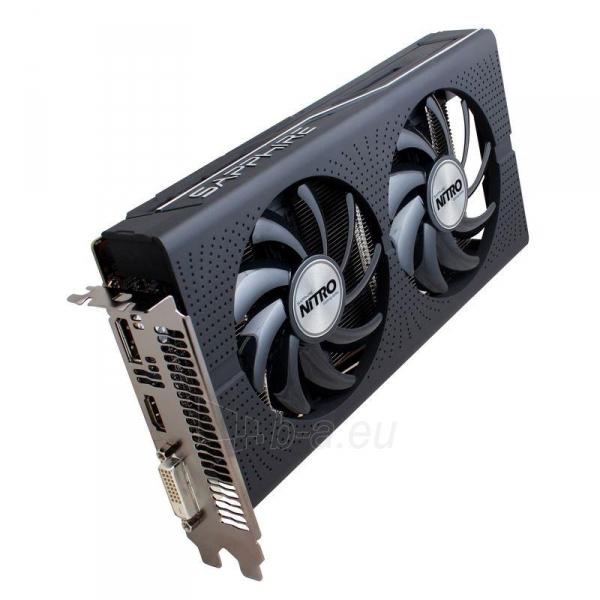 Vaizdo plokštė Sapphire Radeon RX 460 NITRO OC, 4GB GDDR5 (128 Bit) HDMI, DVI, DP, LITE Paveikslėlis 1 iš 7 310820046355