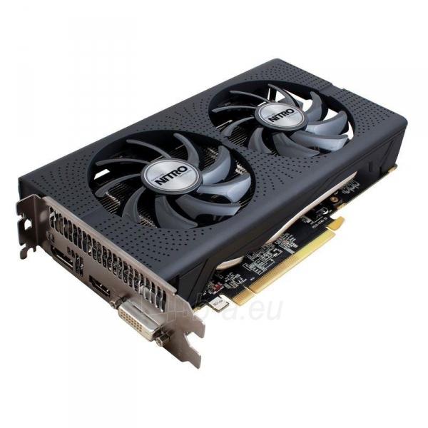Vaizdo plokštė Sapphire Radeon RX 460 NITRO OC, 4GB GDDR5 (128 Bit) HDMI, DVI, DP, LITE Paveikslėlis 2 iš 7 310820046355