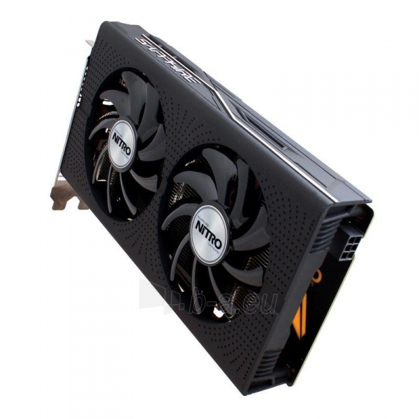 Vaizdo plokštė Sapphire Radeon RX 460 NITRO OC, 4GB GDDR5 (128 Bit) HDMI, DVI, DP, LITE Paveikslėlis 3 iš 7 310820046355