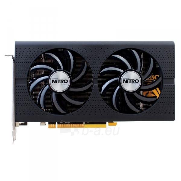 Vaizdo plokštė Sapphire Radeon RX 460 NITRO OC, 4GB GDDR5 (128 Bit) HDMI, DVI, DP, LITE Paveikslėlis 4 iš 7 310820046355