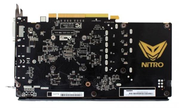 Vaizdo plokštė Sapphire Radeon RX 460 NITRO OC, 4GB GDDR5 (128 Bit) HDMI, DVI, DP, LITE Paveikslėlis 5 iš 7 310820046355