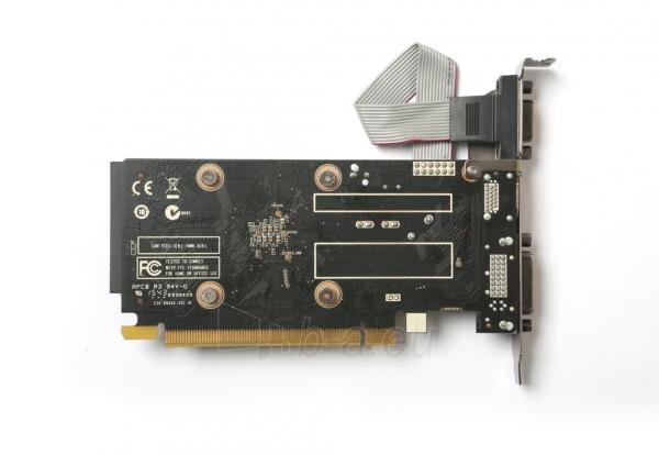Vaizdo plokštė ZOTAC GeForce GT 710, 1GB DDR3 (64 Bit), HDMI, DVI, VGA Paveikslėlis 3 iš 7 310820011612