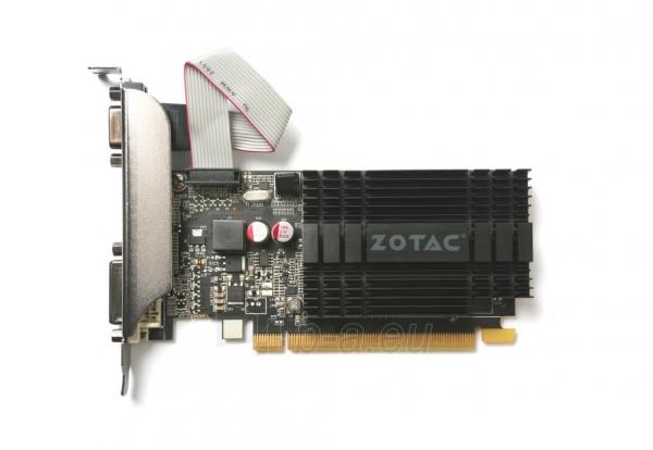 Vaizdo plokštė ZOTAC GeForce GT 710, 2GB DDR3 (64 Bit), HDMI, DVI, VGA Paveikslėlis 1 iš 8 310820011611