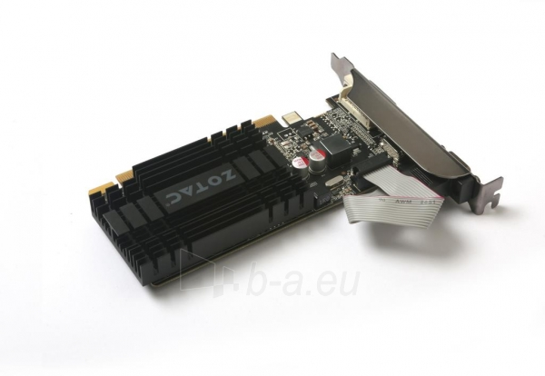 Vaizdo plokštė ZOTAC GeForce GT 710, 2GB DDR3 (64 Bit), HDMI, DVI, VGA Paveikslėlis 3 iš 8 310820011611
