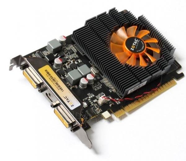 ZOTAC GeForce GT 730, 2GB DDR3 (128 Bit), 2xDVI, miniDP Paveikslėlis 1 iš 4 250255061406