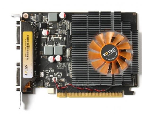 ZOTAC GeForce GT 730, 2GB DDR3 (128 Bit), 2xDVI, miniDP Paveikslėlis 2 iš 4 250255061406