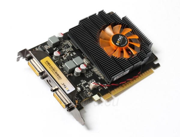 Vaizdo plokštė ZOTAC GeForce GT 730 Synergy Edition, 4GB DDR3 (128 Bit), 2xDVI, miniHDMI Paveikslėlis 3 iš 8 310820011576