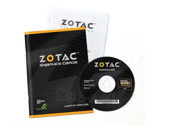 Vaizdo plokštė ZOTAC GeForce GT 730 Synergy Edition, 4GB DDR3 (128 Bit), 2xDVI, miniHDMI Paveikslėlis 8 iš 8 310820011576