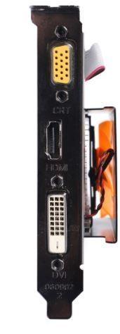 ZOTAC GeForce GT 730 ZONE Edition Low Profile, 2GB DDR3 (64 Bit), HDMI, DVI, VGA Paveikslėlis 3 iš 4 250255061403