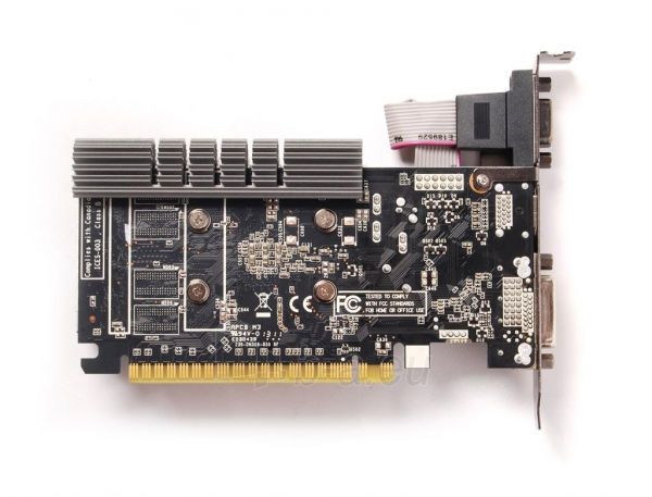 ZOTAC GeForce GT 730 ZONE Edition Low Profile, 2GB DDR3 (64 Bit), HDMI, DVI, VGA Paveikslėlis 4 iš 4 250255061403