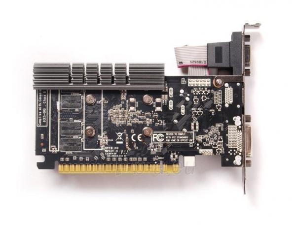 Vaizdo plokštė ZOTAC GeForce GT 730 Zone Edition Low Profile, 4GB DDR3 (64 Bit), HDMI, DVI, VGA Paveikslėlis 5 iš 9 310820011577