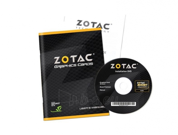 Vaizdo plokštė ZOTAC GeForce GT 730 Zone Edition Low Profile, 4GB DDR3 (64 Bit), HDMI, DVI, VGA Paveikslėlis 9 iš 9 310820011577