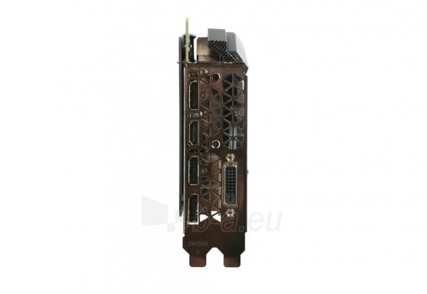 Vaizdo plokštė ZOTAC GeForce GTX 1080 AMP, 8GB GDDR5X (256 Bit), HDMI, DVI, 3xDP Paveikslėlis 4 iš 8 310820030420