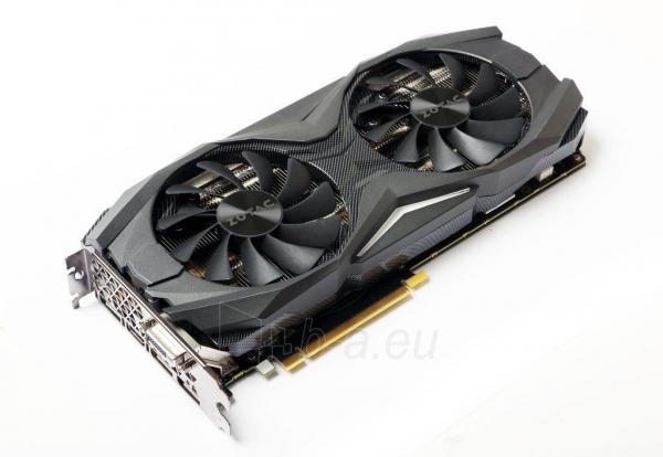 Vaizdo plokštė ZOTAC GeForce GTX 1080 AMP, 8GB GDDR5X (256 Bit), HDMI, DVI, 3xDP Paveikslėlis 6 iš 8 310820030420